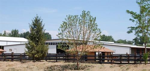 Two Mountain Ranch in Nampa, ID - Whisper Creek Dressage Year-Round Training