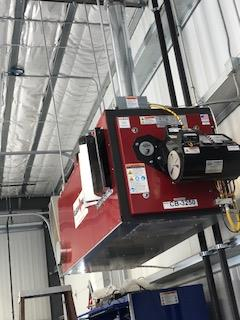 Ceiling Mounted Furnace