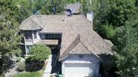 BEFORE PICTURE: ROOF REPLACEMENT OF AN OLD WOODSHAKE ROOF