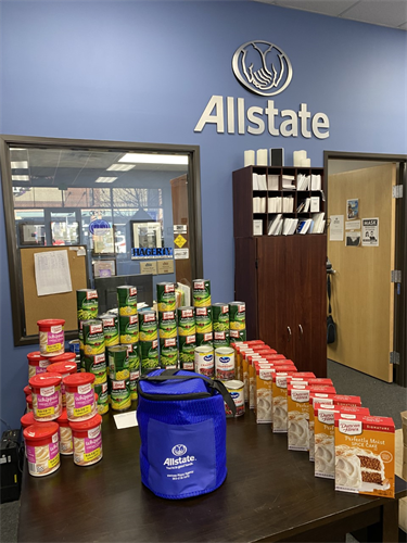 One of our food drives