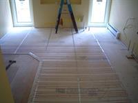 In Floor Tile Heating