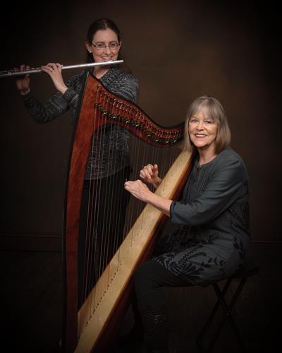Lark Song Duo Jennifer Pauley, flute and Rebecca Markel, harp