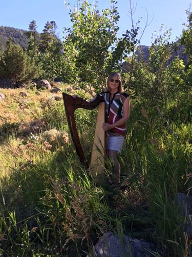 Rebecca Markel, Celtic lever harp