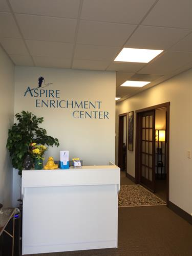 Aspire's Front Lobby