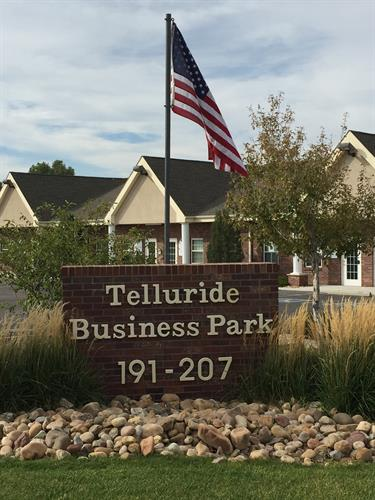 Aspire is located in the Telluride Business Park at Bridge and Telluride (just south of the intersection)
