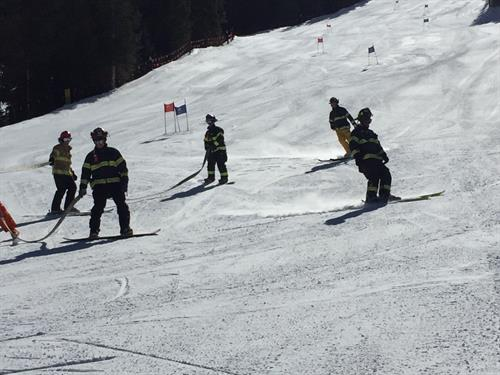 More fun at the Arapahoe Basin Hose Race