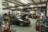 Mahnke Auto Body Brighton Shop Floor