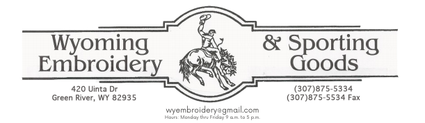 Wyoming Embroidery & Sporting Goods
