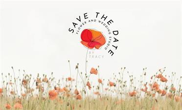 Save the Date Flower & Wedding Studio