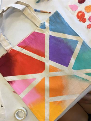 Create your own re-usable tote at Flaming Gorge Modern Makers