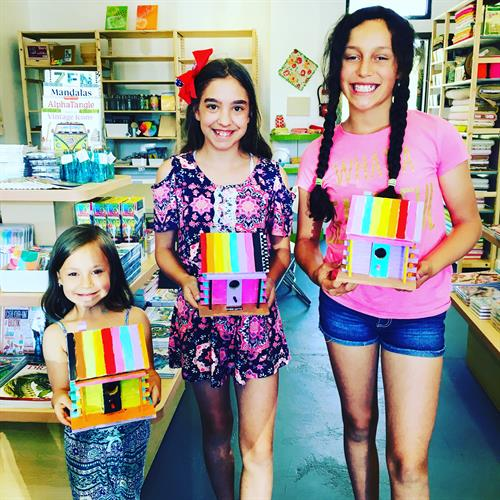 No Sibling Rivalry allowed here...Only Sibling Fun at Flaming Gorge Modern Makers
