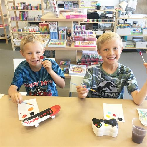 Boy Fun at Flaming Gorge Modern Makers