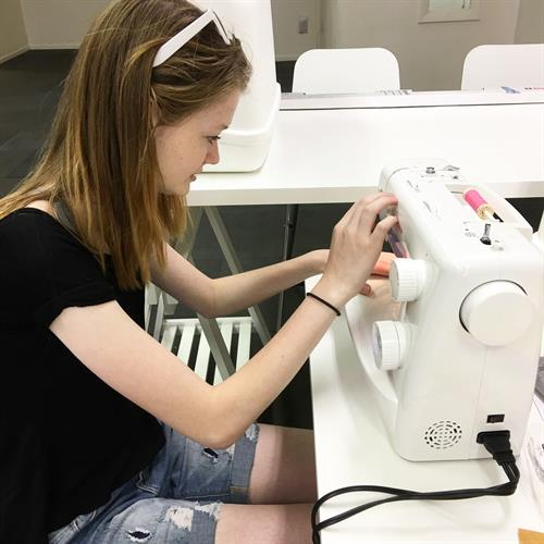 Learn to sew at Flaming Gorge Modern Makers