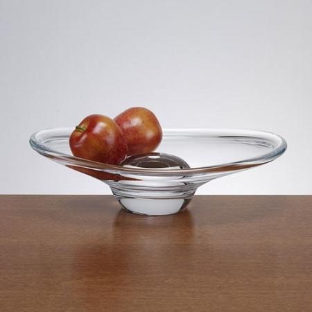 Oval Crystal Platter