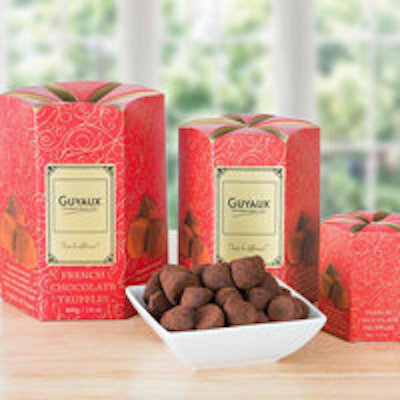 EXQUISITE FRENCH GUYAUX CHOCOLATE TRUFFLES