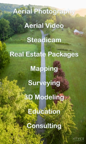 We meet a variety of aerial imaging needs.