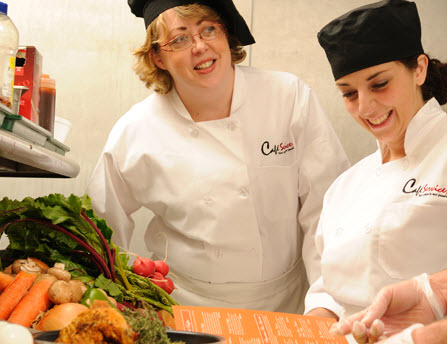 company cateteria food service management from Café Services, Inc in Rockville MD 20850