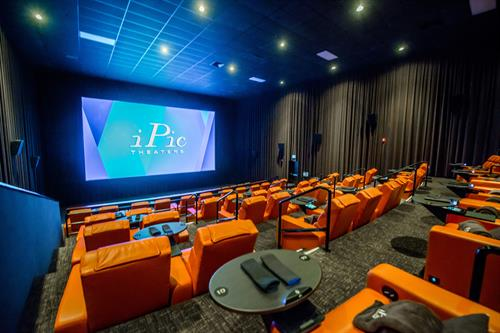 Inside iPic Theaters cinema - feat. the Premium Plus seats