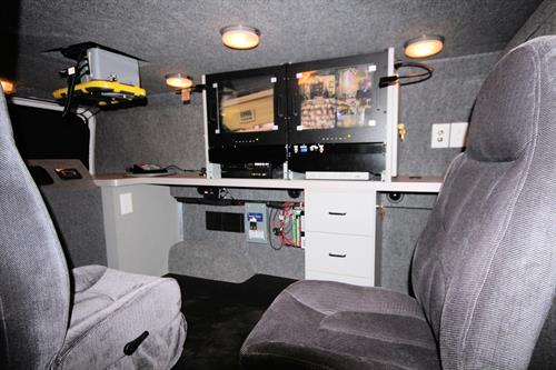 photos of our surveillance van