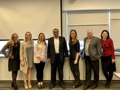 Asif Choudhury and Lisa Wilson at the CFMA Maryland's Mental Health Awareness Summit
