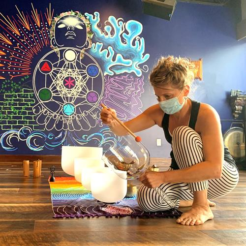 Check out one of our deeply healing sound baths!