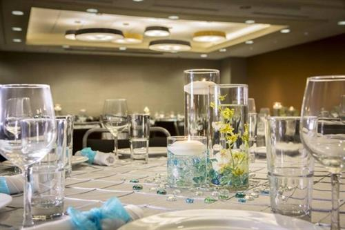 Enjoy an upscale banquet in a boutique atmosphere