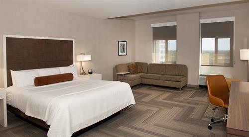 Our upgraded King Tower room is perfectly suited to the business traveler