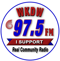 WKDW 97.5 FM, Community Broadband Radio Association, Inc.