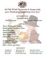 Olde World Restaurant & Sherwood Forest Lounge - North Port