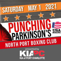 """North Port Boxing Club """"Punching Parkinsons"""" Amateur Boxing Competition - Sponsored by Kia of Port Charlotte"""