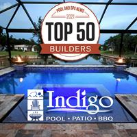 Indigo Pool Patio BBQ Named A Top 50 Pool Builder In The Nation!