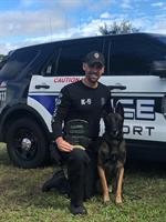 North Port Police Department's K9s get Donation of Body Armor