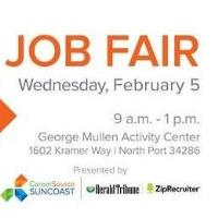 Job seekers can meet and interview with employers at a Job Fair on Wednesday, February 5