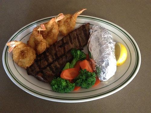 New York Steak & Shrimp