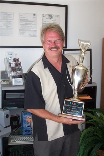 Escondido BNI Presenter Award 2012