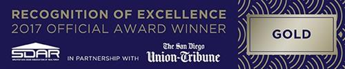 Top Producer in 2017- Award of Excellence