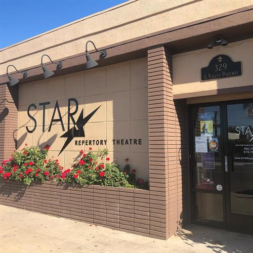 Front of STAR Repertory Theatre