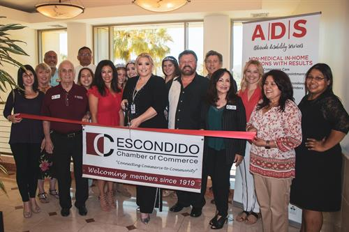 ADS RIBBON CUTTING