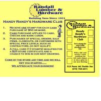 Randall Lumber & Hardware, Inc. - Taos