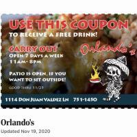 Orlando's New Mexican Cafe - El Prado