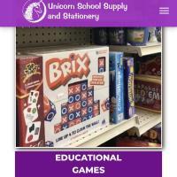 Unicorn School Supply and Stationary