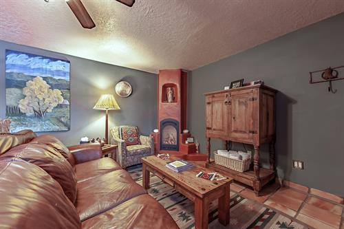 Puerta Blanca's living room