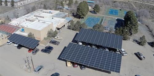 Taos Spa Goes Solar with PPC Solar!