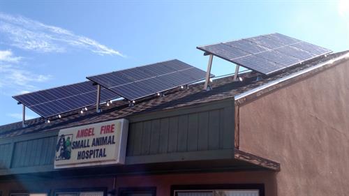 Angel Fire Vet Clinic Solar