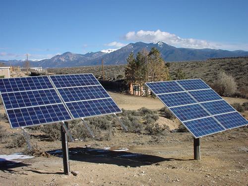 Pole mount residential solar