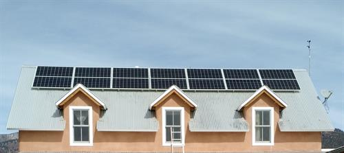Residential solar project in Arroyo Seco