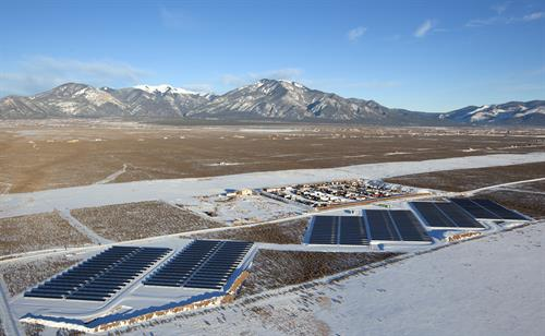 Blue Sky Energy  Utility Array