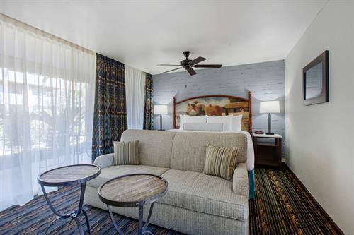 Casita Suite King Bed & Sofa Sleeper