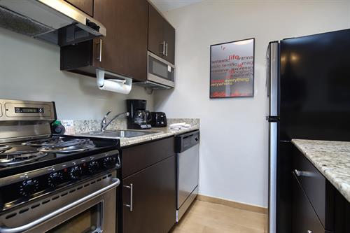 Full Kitchen in every suite!