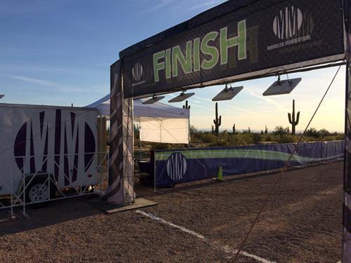 Finish Line Set Up